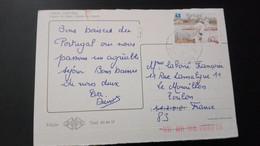Portugal - Postal Circulado (Animal, Bird, Fauna) - Cartas