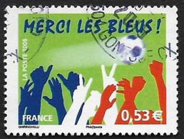 FRANCE  2006 -  Y&T  3936  - Merci Les Bleus  - Oblitéré - Gebruikt