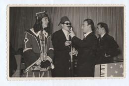 11622.  Fotografia Cartolina Vintage Carnevale 1952 Salsomaggiore Terme Berzieri - Foto Renzo Crovini - Personas Anónimos