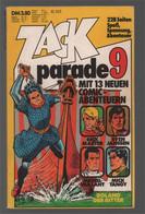 Koralle Zack Parade  9 (1975) - Rick Master Lucky Sven Jansen Michel Vaillant Mick Tangy Roland Der Ritter - Other