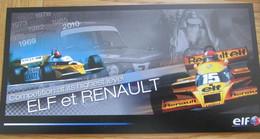 Elf Et Renault World Series 2011 Unused Postcard 210 X 105 Mm - Otros