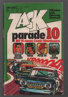 Koralle Zack Parade 10 (1975) - Michel Vaillant Tunga Pittje Pit Dan Cooper - Other
