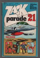 Koralle Zack Parade 21 (1977) - Dan Cooper Rick Master Barracuda Turi Pittje Pit - Other