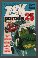 Koralle Zack Parade 25 (1977) - Pittje Pit Gentlemen Rick Master Bob Morane Tunga Cubitus Michel Vaillant - Other