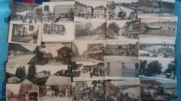 Lot De 100 Cpa Nombreuses Animations - Villes-villages-vues (2) - 100 - 499 Postales