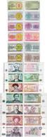 Kazakhstan 1993 Set 1+2+5+10+20+50 Tyin +1+3+5+10+20+50+100 Tenge - Pick 1-13 UNC - Kazakhstan