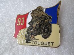 PIN'S    MOTO     LE TOUQUET   93   Zamak  LOCOMOBILE  37x36mm - Motorfietsen