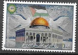 UAE, 2019, MNH,  JOINT ISSUES, JERUSALEM CAPITAL OF PALESTINE, AL QUDS, 1v - Autres