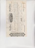 CAMBIALE  DI  CAMBIO .  BON  POUR  ...  MONTE  VIDEO   1887 - Bills Of Exchange