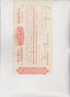 CAMBIALE  DI  CAMBIO .  BON  POUR  ...  MONTE  VIDEO   1889 - Bills Of Exchange