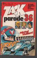 Koralle Zack Parade 36 (1979) - Tony Stark Pittje Pit Yalek Michel Vaillant - Other