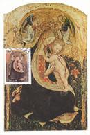 Carte Maximum  Peinture Painting Italie Italia 1996 Pisanello - Maximum Cards