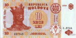Moldavie 10 Lei (P10) 2009 -UNC- - Moldova