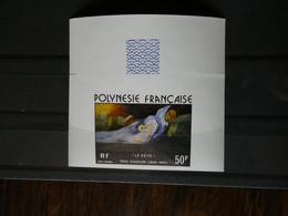 FRANCE DOM-TOM,POLYNESIE, Gauguin PA 113   NON DENTELE,  Neufs Sans Charnière MNH - Geschnitten, Drukprobe Und Abarten