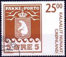 GROENLAND 2006 25kr Pakke-Porto GB-USED - Gebraucht
