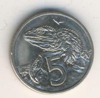 NEW ZEALAND 1985: 5 Cents, KM 34 - New Zealand