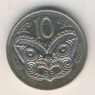 NEW ZEALAND 1980: 10 Cents, KM 41 - New Zealand