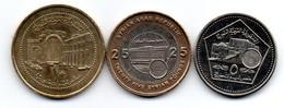 Syrie - Lot De 3 Monnaies - Syria