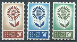 Chypre YT N°232/234 Europa 1964 Neuf ** - 1964