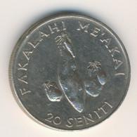 TONGA 1990: 20 Seniti, FAO - Tonga