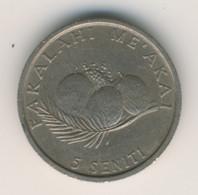 TONGA 1981: 5 Seniti, KM 68 - Tonga