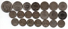 Colonies Françaises - Lot De 21 Monnaies - Colonies