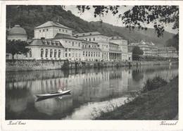 Duitsland - Rheinland-Pfalz - Bad Ems - Kursaal - Zwart/wit - Gebruikt - Bad Ems