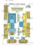 CPM Modélisme - Carte Maquette - OPERA DE PARIS, Palais Garnier - Monuments