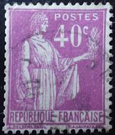 R1491/293 - 1932/1933 - TYPE PAIX - N°281a (II) ☉ - 1932-39 Frieden