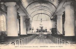 85-ILE DE NOIRMOUTIER-BARBATRE-N°2036-B/0261 - Ile De Noirmoutier