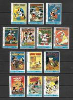 Disney Set Sierra Leone 1992 Mickey Mouse Magazines And Books MNH - Disney