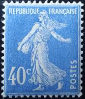 R1491/297 - 1927/1931 - TYPE SEMEUSE CAMEE - N°237 NEUF** LUXE - TRES BON CENTRAGE - 1906-38 Säerin, Untergrund Glatt