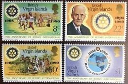 British Virgin Islands 1980 Rotary MNH - British Virgin Islands