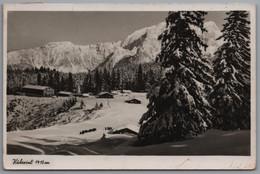 Berchtesgadener Alpen - S/w Kühroint 1   Mit Stempel Hochgebirgsstützpunkt  Kühroint - Berchtesgaden