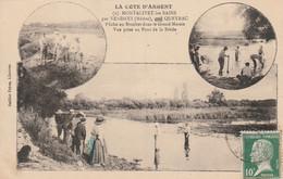MONTALIVET-les-BAINS Par VENDAYS, QUEYRAC - Pêche Au Brochet Dans Le Grand Marais ... - Otros Municipios