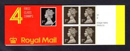 GRANDE-BRETAGNE 1989 - Carnet Yvert C1393 - SG HB1 - NEUF** MNH - Barcode Booklet With 4 NVI 1st Class Stamps - Markenheftchen