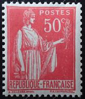 R1491/305 - 1932/1933 - TYPE PAIX - N°283d (IIB) NEUF** - 1932-39 Paz