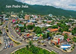 Honduras San Pedro Sula Aerial View New Postcard - Honduras