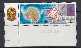 TAAF 2000 Programme Sommeil 1v (corner, Printing Date) ** Mnh (51715B) - Neufs