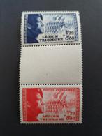 Timbres France Neufs Luxe N° 565/566 La Légion Tricolore Avec Intervalle - Nuovi