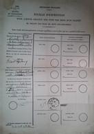 H 1 Facture/document Feuille Expédition Colis   Manque 1 Pièce - 1939-45
