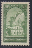 Monaco Timbre Paysage De La Principauté 30 C. Vert-jaune N° 122** Neuf - Unused Stamps