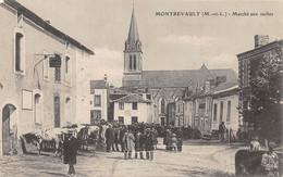 49-MONTREVAULT-MARCHE AUX VACHES-N°2043-F/0177 - Montrevault