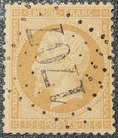 Napoléon III N° 21  Avec Oblitération Losange Centrale 1707  TB - 1862 Napoleone III