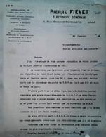 H 1 Facture/document Entete Bureau Artisanal Des Matieres   Lille  Rec/ver - Guerra De 1939-45