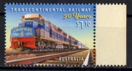 Australia. 2020. Transcontinental Railway Locomotive Train.  MNH - Mint Stamps