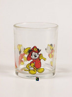 Bicchiere O Bicchieri Nutella Kinder Ferrero 1990 - Disney 2 -Topolino ( Glass -glasses - Verres - Vasos - Glaser ) - Glasses