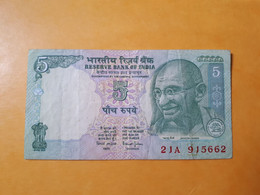 INDE 5 RUPEES GANDHI - India