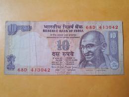 INDE 10 RUPEES GANDHI - India