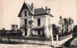 MARTIGNY LES BAINS ( 88 ) - Villa Des Glaïeuls - Altri Comuni